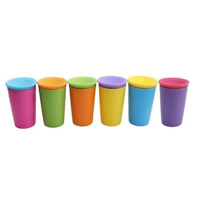 Sippy Cup Anti Spill Proof Training Toddler Drinking No Leak Chew Proof New LA