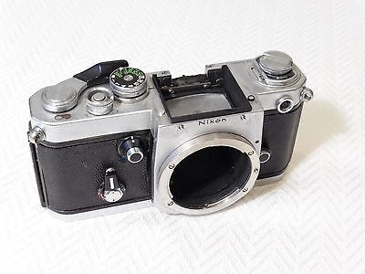 Nikon F2 Manual Focus 35mm Film Camera Faulty. Vintage and collectable