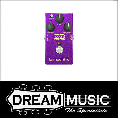 Dunlop MXR Custom Shop La Machine CSP203 Fuzz Guitar Effects Pedal RRP$279