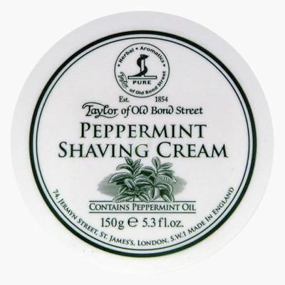 Taylor of Old Bond Street Peppermint Shaving Cream Bowl