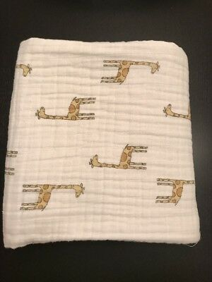 Aden & And Anais Dream Blanket 100% Cotton Muslin Baby Boy Girl Giraffe