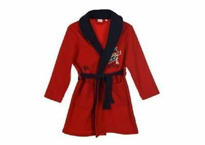 CLEARANCE - Jake and The Neverland Red and Navy Dressing Gown Robe