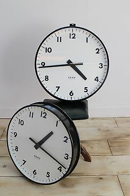 24″ Extra Large Gents Of Leicester Industrial Factory Station Clock