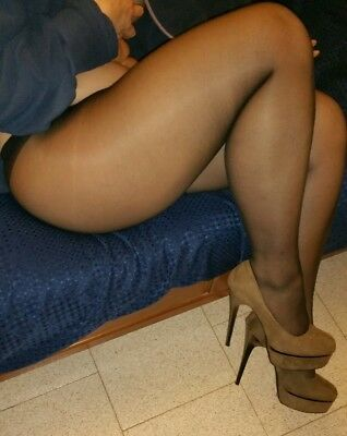 calze, collant, tight, Pantyhose USED. Colore scuro