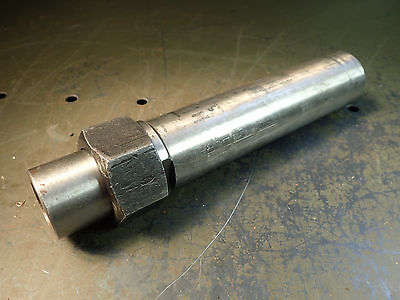 """DA180 Collet Chuck Extended Nose for Tool Clearance 1-1/2"""" Shank 8-1/4"""" OAL Used"""