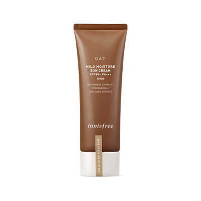 [Innisfree] Oat Mild Moisture Sun Cream SPF50+ PA+++ 40ml (Korean Cosmetics)