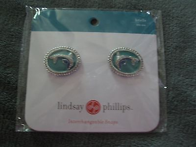 Lindsay Phillips Pair of Brielle Shoe Snaps Rare & Cute! Last One!  NIP