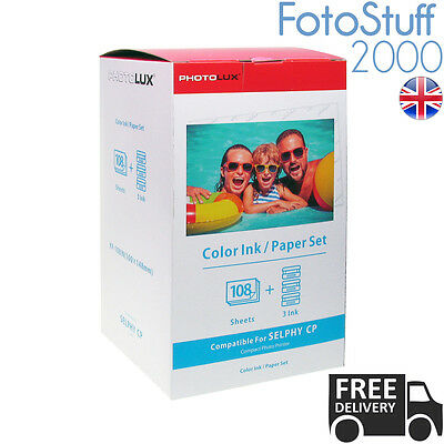 KP 108IN RP 108IN Canon Compatible 4x6 Ink & 108 Paper Set CP-820 KP-108IN