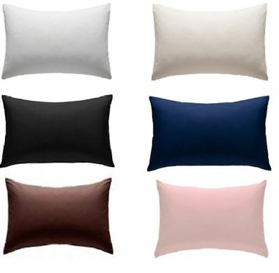 "Extra Large Polycotton King Size Pillow Cases 20"" x 36"" - 1 Pair"