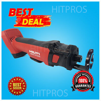 Hilti Sco 6-A22 Cordless Cut-Out Tool, New, 2 Batteries, Charger, Fast Ship