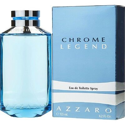 Profumo Uomo Azzaro Chrome Legend 125 Ml Edt 4,2 Oz 125Ml Pour Homme Toilette