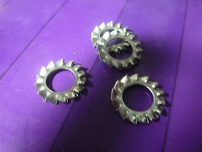 M4 Stainless Shakeproof Washers x50-4mm Internal Shake Proof Washers x50 Washers
