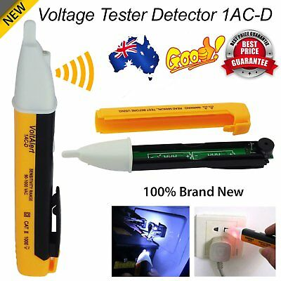 90~1000V Circuit Tester Voltage Electrical LED Light Test Tool Pen Detector MGS