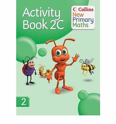 Collins New Primary Maths - Activity Book 2C Paperback Book Age 7+