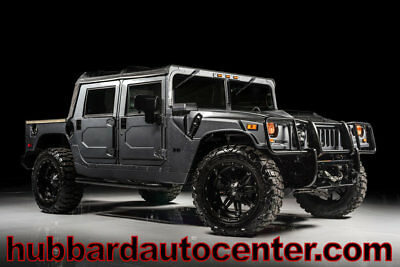 2006 Hummer H1 Fully Custom, Rare Generation 2 All Black Interior 2006 Hummer H1 Alpha, fully custom low miles, rare gen 2 all black inerior!