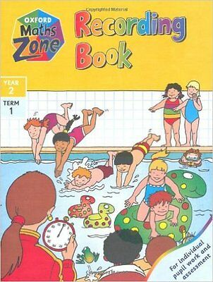 Oxford Maths Zone: Recording Book: Year 2, Term 1 Paperback
