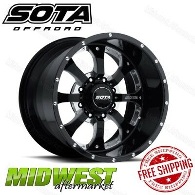 SOTA Offroad NOVAKANE 20x12 8x170 Bolt Pattern -51mm Offset Death Metal Rim