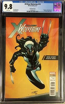All-New Wolverine #19 CGC 9.8 Rom Lim Walmart Exclusive Variant Cover!