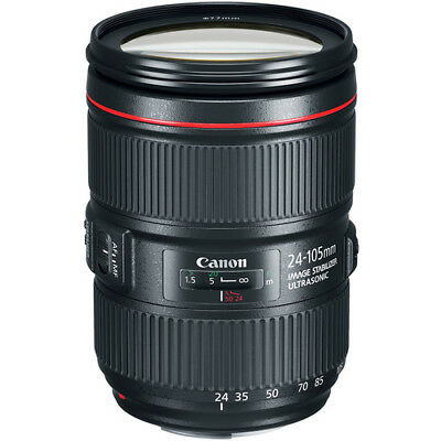 Canon EF 24-105mm f/4L IS II USM Lens - USA Model Brand New!