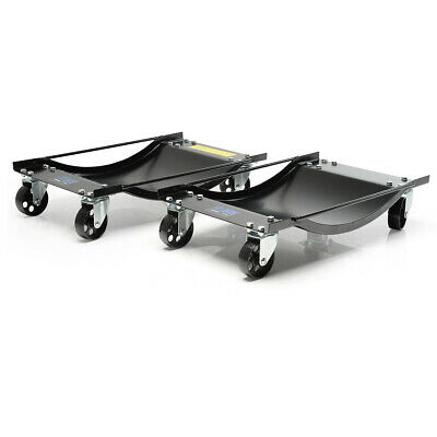 Two Vehicle Positioning Wheel Dollies - 450kg Per Dolly