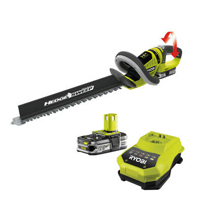 Ryobi ONE+ RHT1851R15 18V Cordless Hedge Trimmer with 1 x 1.5 Lithium Battery &