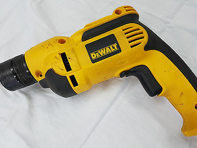 DeWALT DWD112 8.0 Amp 3/8-Inch Pistol-Grip Drill Keyless All-Metal Chuck 9864-1