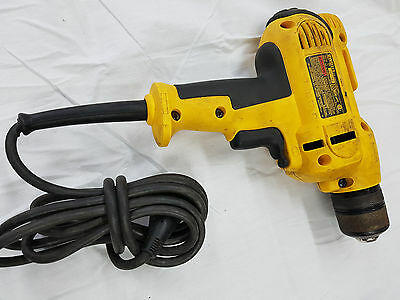 DEWALT DWD115 3/8-inch 8 Amp VSR Mid-Handle Electric Corded Drill Kit 9116-1