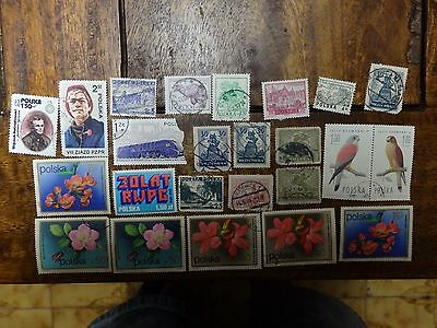 24x Mixed POLAND Stamps