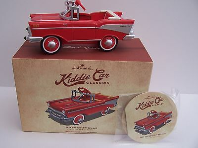 1957 Chevrolet Bel- Air Kiddie Car Classics Collectible Toy Car Limited Edition