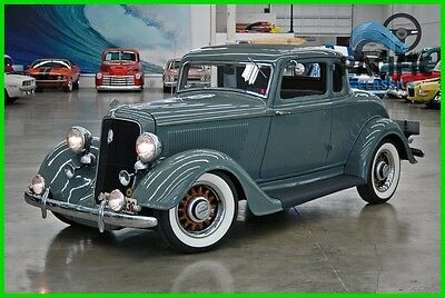 1934 Plymouth Other  1934 Plymouth Coupe 201 I6 / 3 speed manual / all steel / SUPER CLEAN