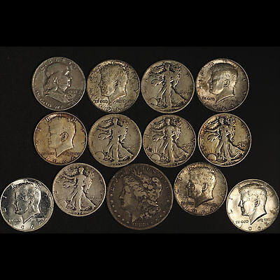90% Silver Collection - Walkers Franklin JFK + Morgan - Free Shipping USA