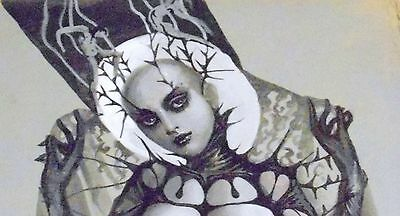 """Erotic gothic art   """"Lilith Unveiled"""""""