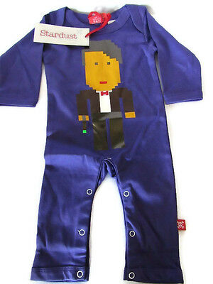 Doctor Who Baby Sleepsuit Romper. New! Size 0-6 months Stardust Rags for Rascals
