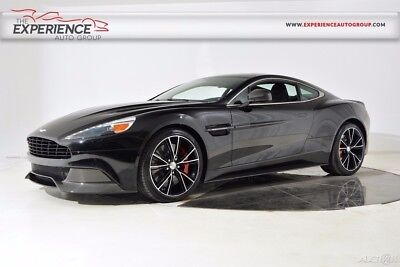 2014 Aston Martin Vanquish 2 + 2 20 Spoke Diamond Carbon Fiber Roof Red Calipers Ext. Leather Black Hardware