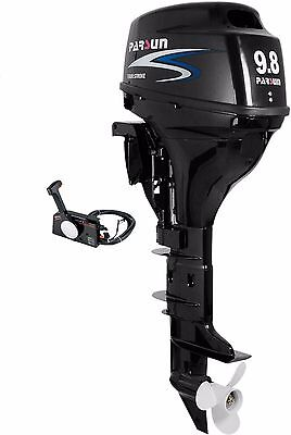 9.8 HP Outboard Motor - Remote Controls - Long Shaft