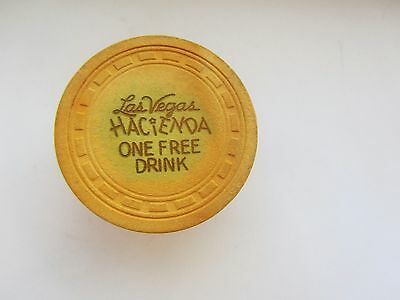 Hacienda Casino - Las Vegas , NV- OBSOLETE CASINO CHIP