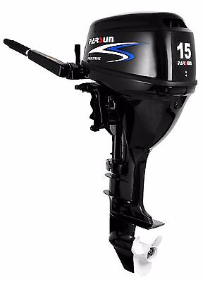 15 HP Parsun Outboard Motor - Electric Start Long Shaft