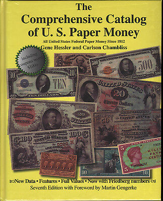 Catalog of US Paper Money 7th Ed FREE Shipping USA Clearance Priced only $10.99