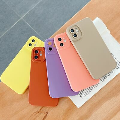For Apple iPhone 5 5s SE Ultra Slim Shockproof Soft Rubber Case Matte Back Cover