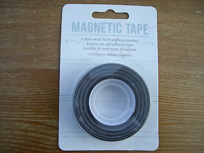 Self Adhesive Magnetic Tape 3 Metres X 18Mm