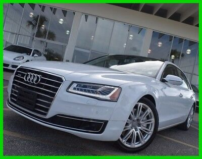 2015 Audi A8 L 4.0T 2015 L 4.0T Used Turbo 4L V8 32V Automatic quattro Sedan Moonroof Premium Bose