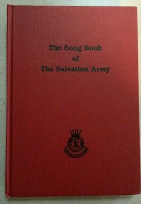 The Song Book Of The Salvation Army Hard Cover.  Hymns