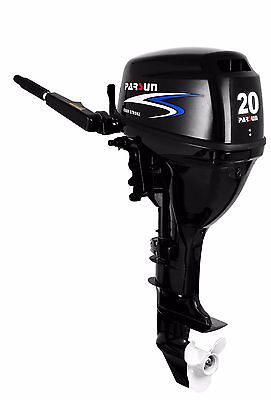 20 HP Parsun Outboard, Electric Start, Short Shaft
