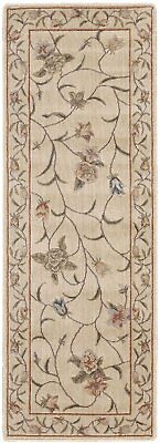 Nourison Somerset ST09 Ivory Runner Area Rug, 2-Feet by 5-Feet 9-Inches 2' x