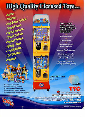 CANADA ONLY! Professional capsule vending machines! $1 AND $2 ! Great business!