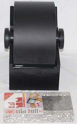Vtg Rolodex Business Industrial Metal 3500S Rotary File w/ Cards & Sealed Refill