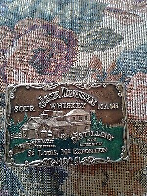 Jack Daniels multi colored Belt Buckle