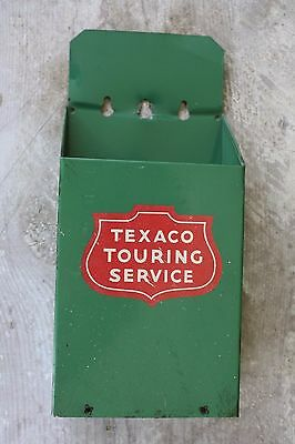Texaco Touring Service Map Holder Gas Station Oil