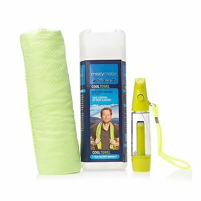 MistyMate Cool Towel  Extra-Large + Misty 1 Personal high pressure mister