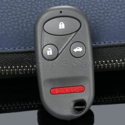 Remote Key Fob Case Shell 4 Buttons for HONDA CRV Civic S2000 Insight Accord